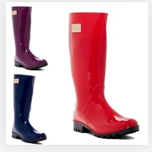 Nicole Miller Rainyday Rainboots NEW